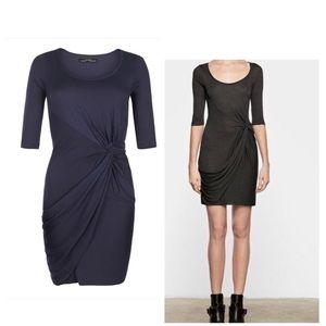 All Saints Twain Jersey Dress - Size 2